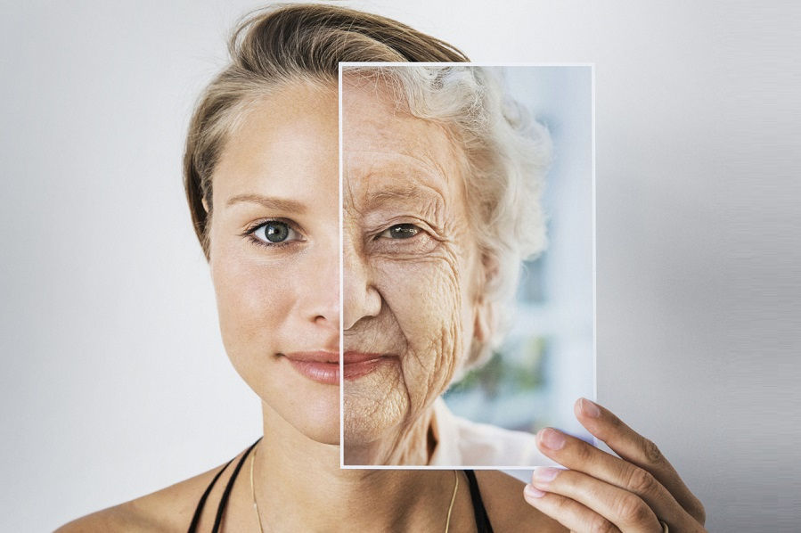 Aging process and facial changes