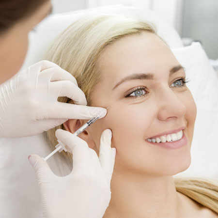 Botox injection at Castleknock Cosmetic Clinic Dublin