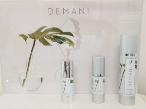 Recommended skincare Demani skincare
