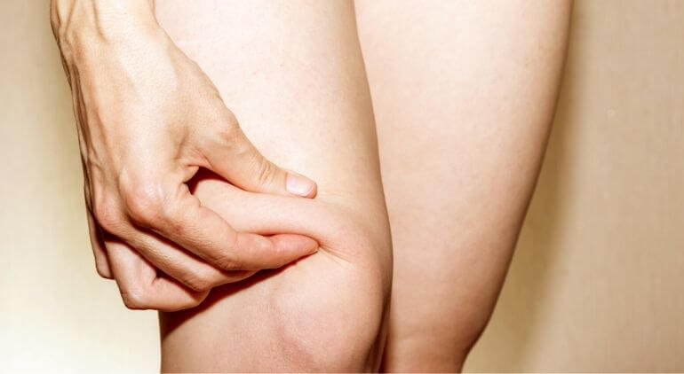 Knee fat pad liposuction vaser
